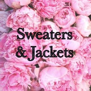 Listings for sweaters & jackets ahead...